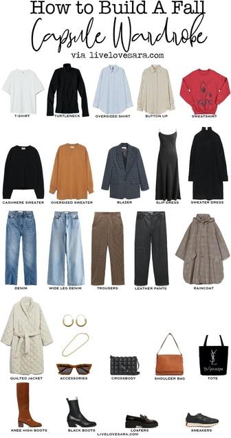 utfit Ideas | Budget Capsule Wardrobe |  Autumn Capsule Wardrobe | Autumn Outfit Ideas | livelovesara #ShopStyle #MyShopStyle