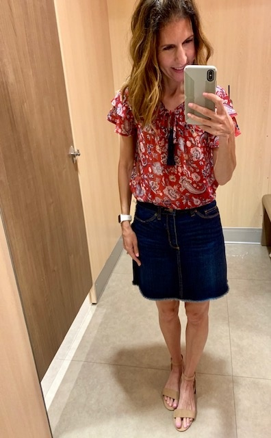 is a fun twist on a classic piece. #myeastcoaststyle #pghfashionblogger #fashionblogger #targetstyle #ShopStyle #MyShopStyle