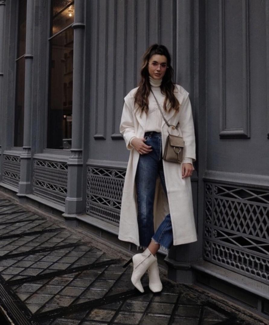 #ShopStyle #TravelOutfit #WeekendLook #WearToWork #shopthelook #MyShopStyle #SpringStyle #NYFW #OOTD #karenwalker #asos #white #coat #winterwhite