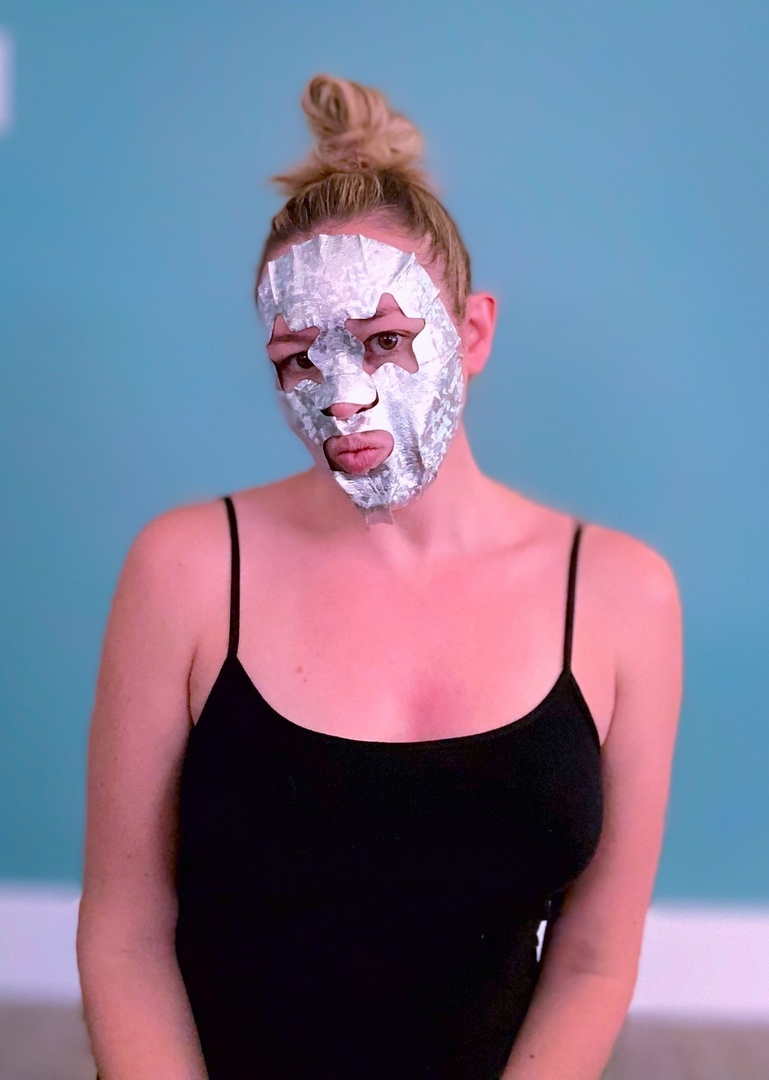 Look by Totally Tash featuring Bliss The Detoxifier Holographic Foil Sheet Mask