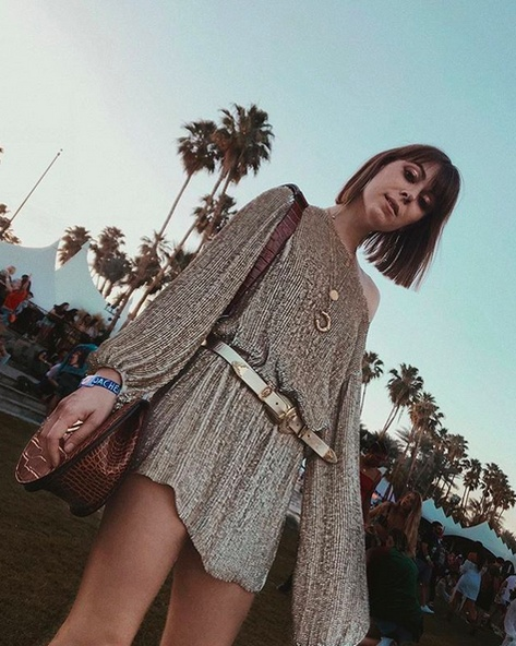 """""""There's no time to sleep when you're living in a dream""""  #coachella"""
