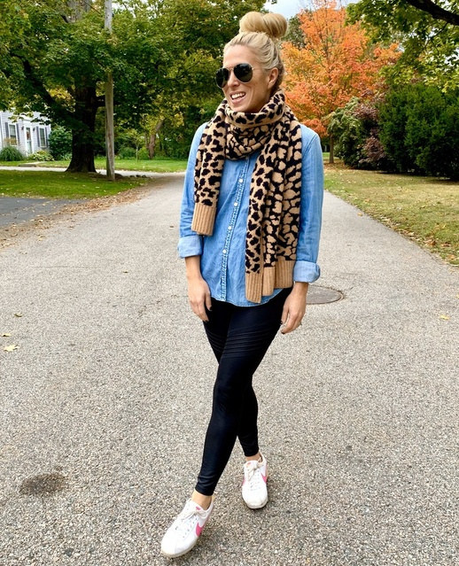 over40 #Jcrew #RhodeIsland #FallWeather #MomStyle #MomFashion #LeopardTrend  #ShopStyle #MyShopStyle #Lifestyle #TrendToWatch