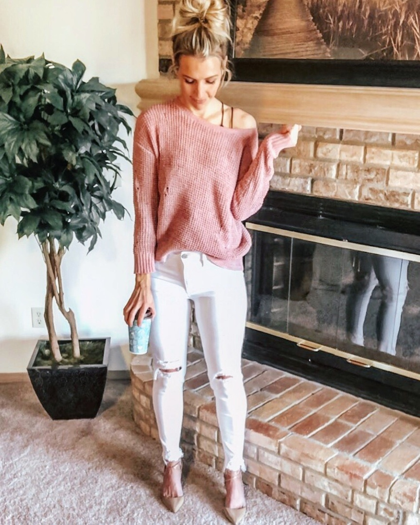 Look by Marla Gustafson featuring Jessica Simpson Cirrus High Heels