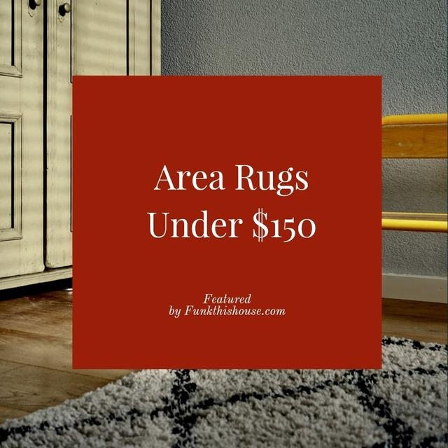 Area Rugs Under $150