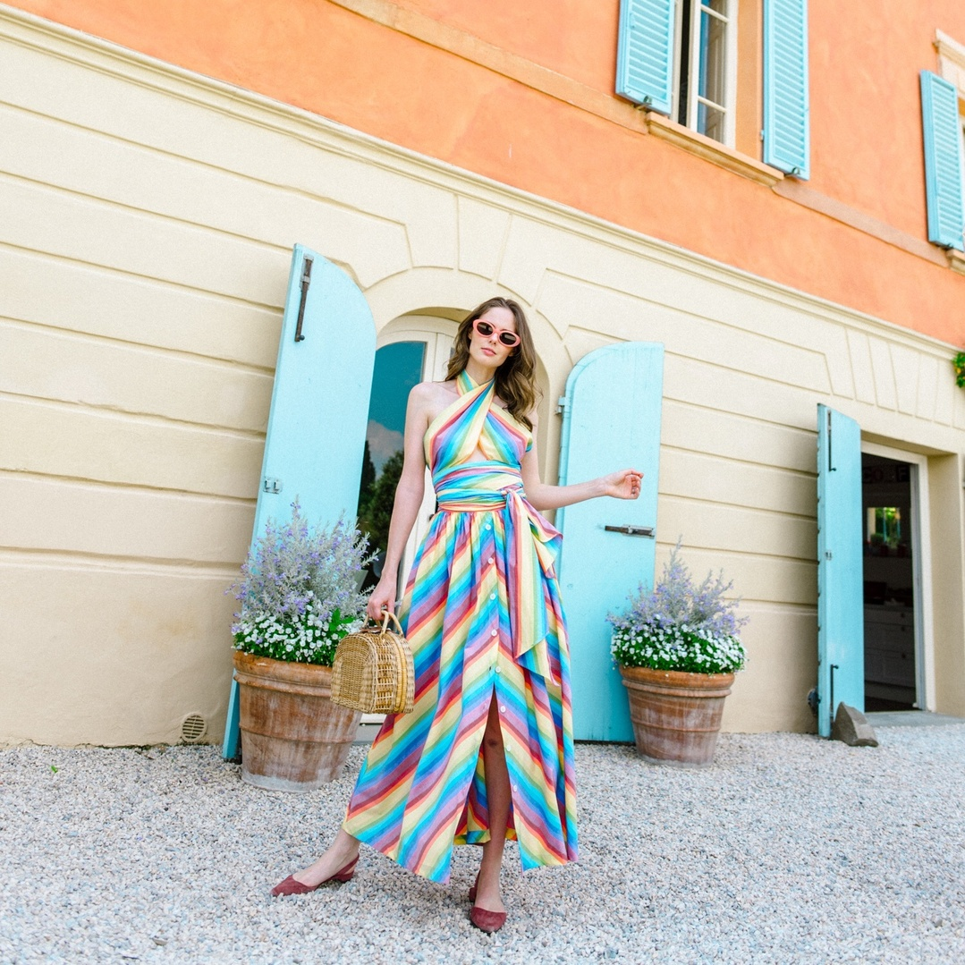 Colors of the rainbow #ShopStyle #shopthelook #SpringStyle