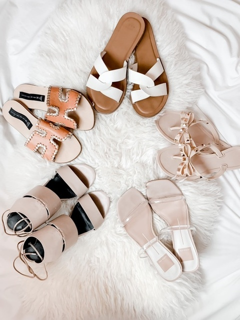 Summer dreaming! Love neutral sandals that go with everything- linked some of my faves here!