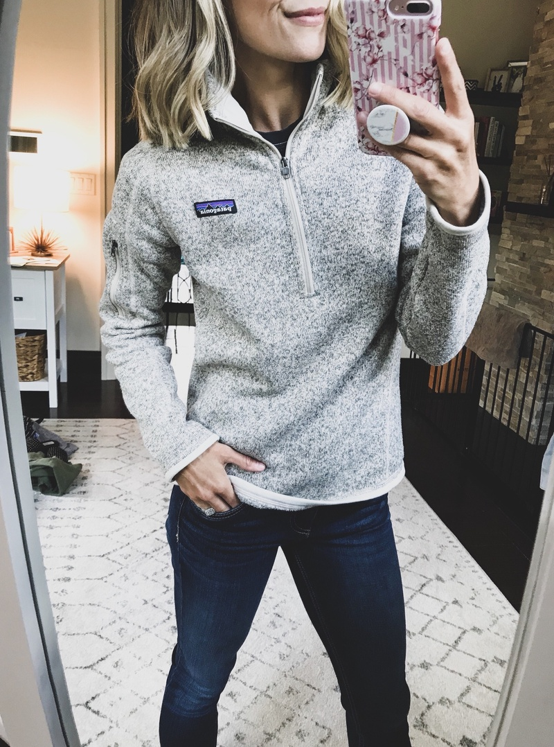 Fashion Look Featuring Patagonia Sweats & Hoodies and