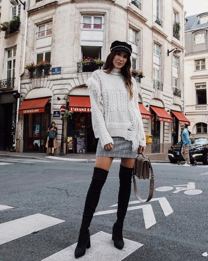 2d284689ccc How to Style Your Over-the-Knee Boots