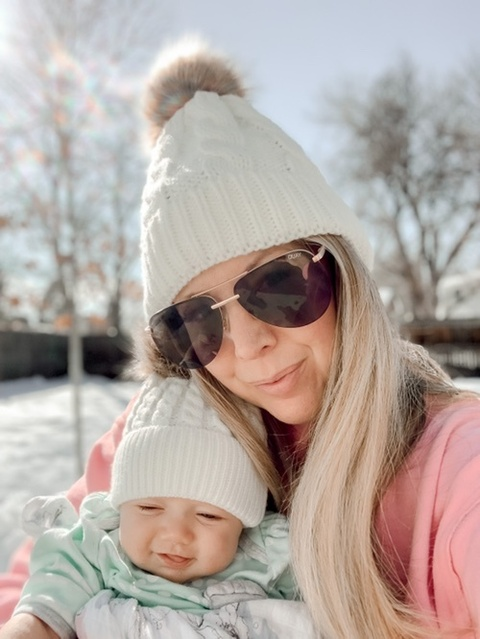 Mommy and me beanie set ftw 💕