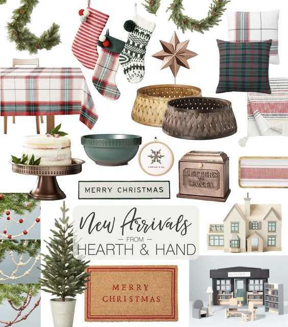 New arrivals for Hearth and Hand Christmas!