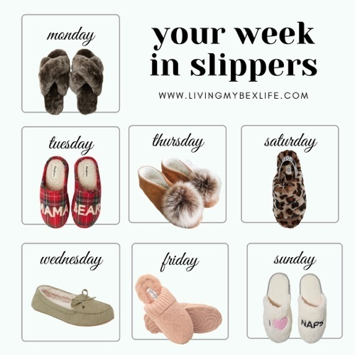 A slipper a day keeps the 'rona away #loungewear #slippers #houseshoes