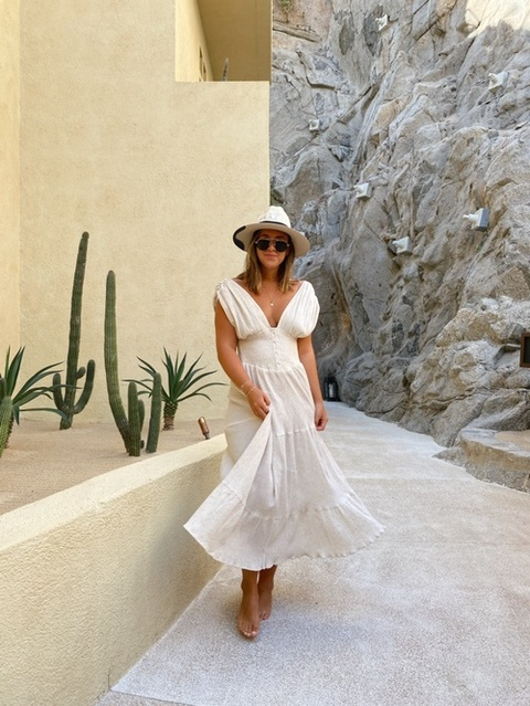 the perfect summer dress 🤎
