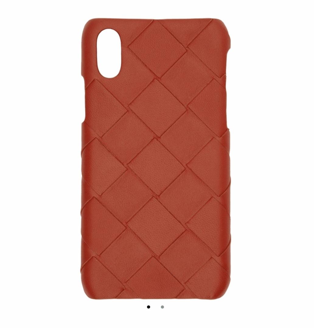 Look by Jennifer sattler featuring Bottega Veneta Red Max Intrecciato iPhone X/XS Case