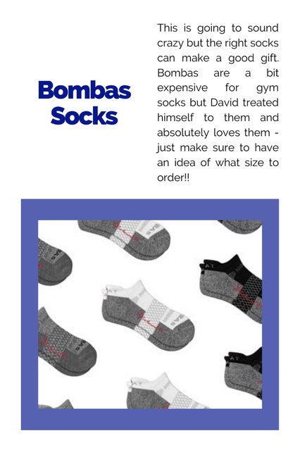 an idea of what size to order!! #ChicItinerary #GiftGuides #GiftsforGuys #Presents #ForDad #Socks #Warmth #Comfort #Athletic