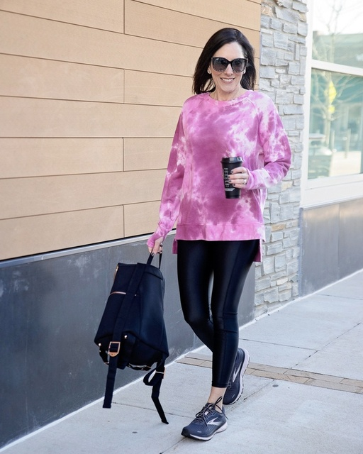 of faux leather leggings, but I tried them and just couldn't get on board.  #ad #yesplease #nordstrom #athleisure @ShopStyle