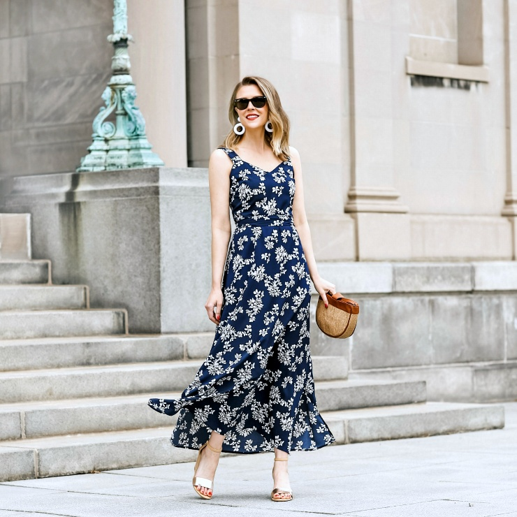 The perfect spring to summer dress for any occasion #ShopStyle #MyShopStyle #ContributingEditor #LooksChallenge #Vacation #sponsored #WalmartFashion #WeDressAmerica
