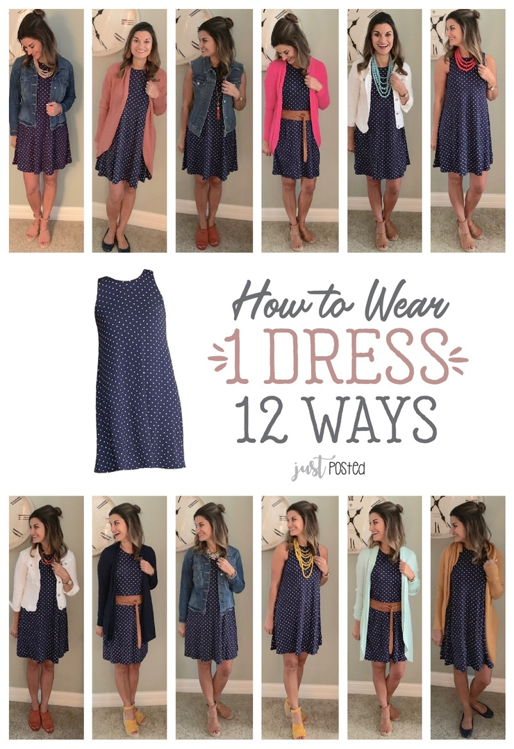Look by Just Posted featuring Sleeveless Jersey Swing Dress for Women