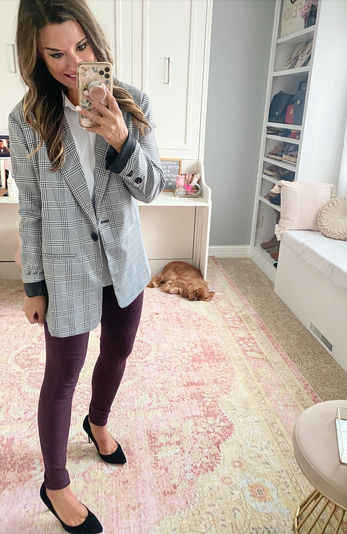 Look by Just Posted featuring dollhouse Women's Fitted Blazer