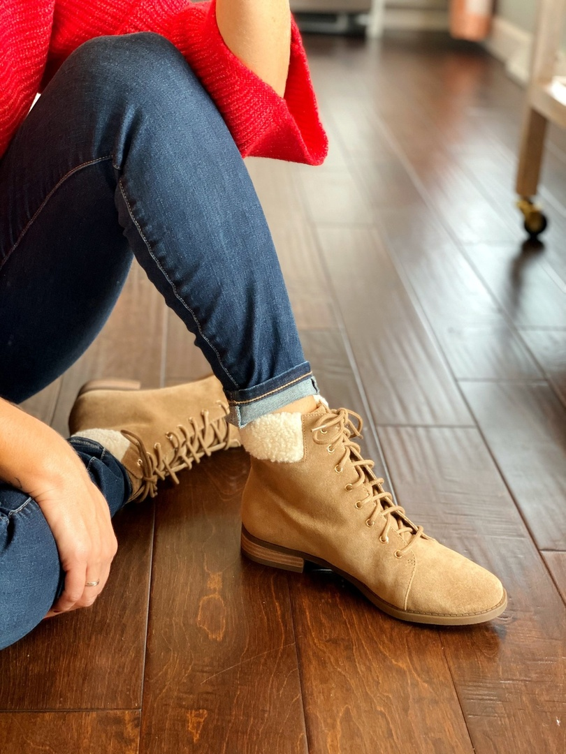 all style #ShopStyle #MyShopStyle #fallfashion #fallstyle #shopmyoutfit #shopmylook #laceupboots #shearlingboots #winterboots
