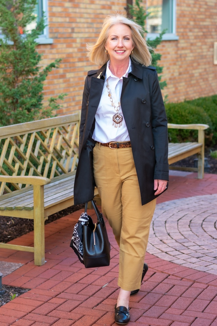 Look by Dressed For My Day featuring Patch Pocket Crop Chinos