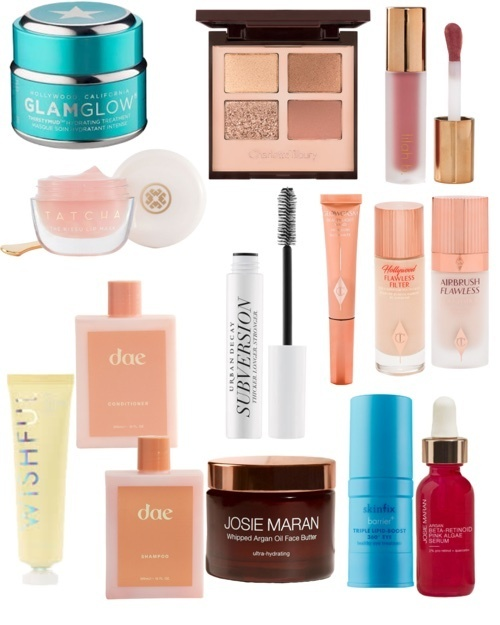 all my top picks  from the Sephora sale that starts tomorrow! if you are a rouge member, you can shop for 20% off tomorrow!