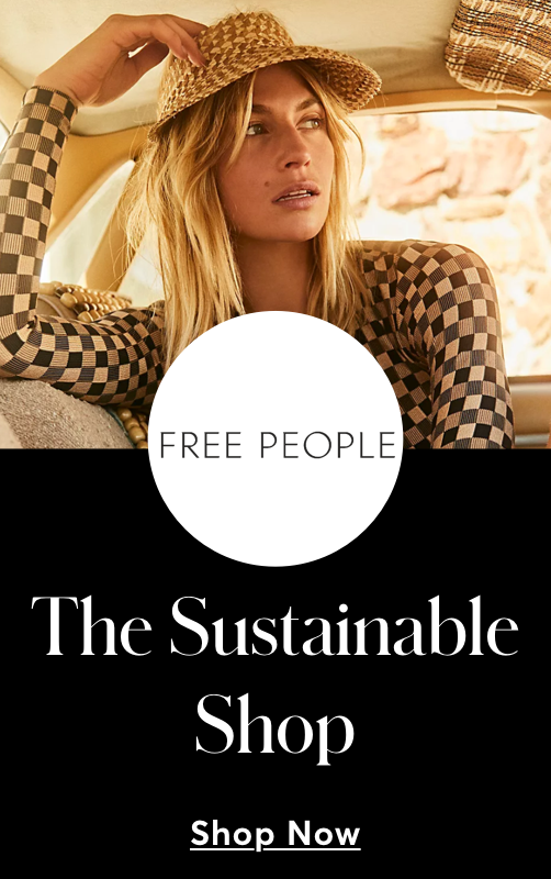 Free People Sustainable shop