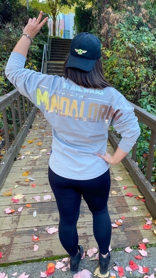 Look by Livin La Vida Yoko featuring Star Wars: The Mandalorian Spirit Jersey for Adults