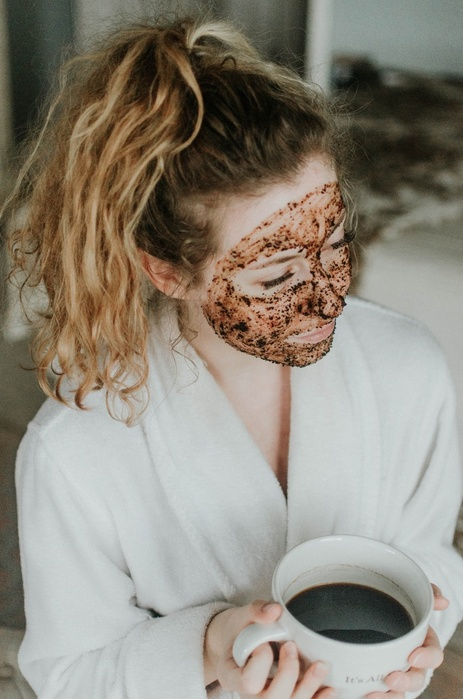 Coffee Coconut Milk Face Mask Spa Day