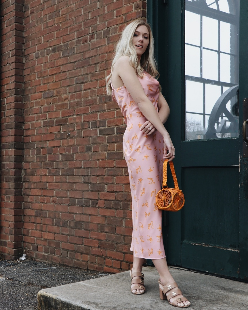 I'd like a cheeseburger, large fries, and a cosmopolitan...an unexpected pairing.  Just like this look #ShopStyle #MyShopStyle #Lifestyle #SpringFashion #SlipDress #SpringLooks #ootd