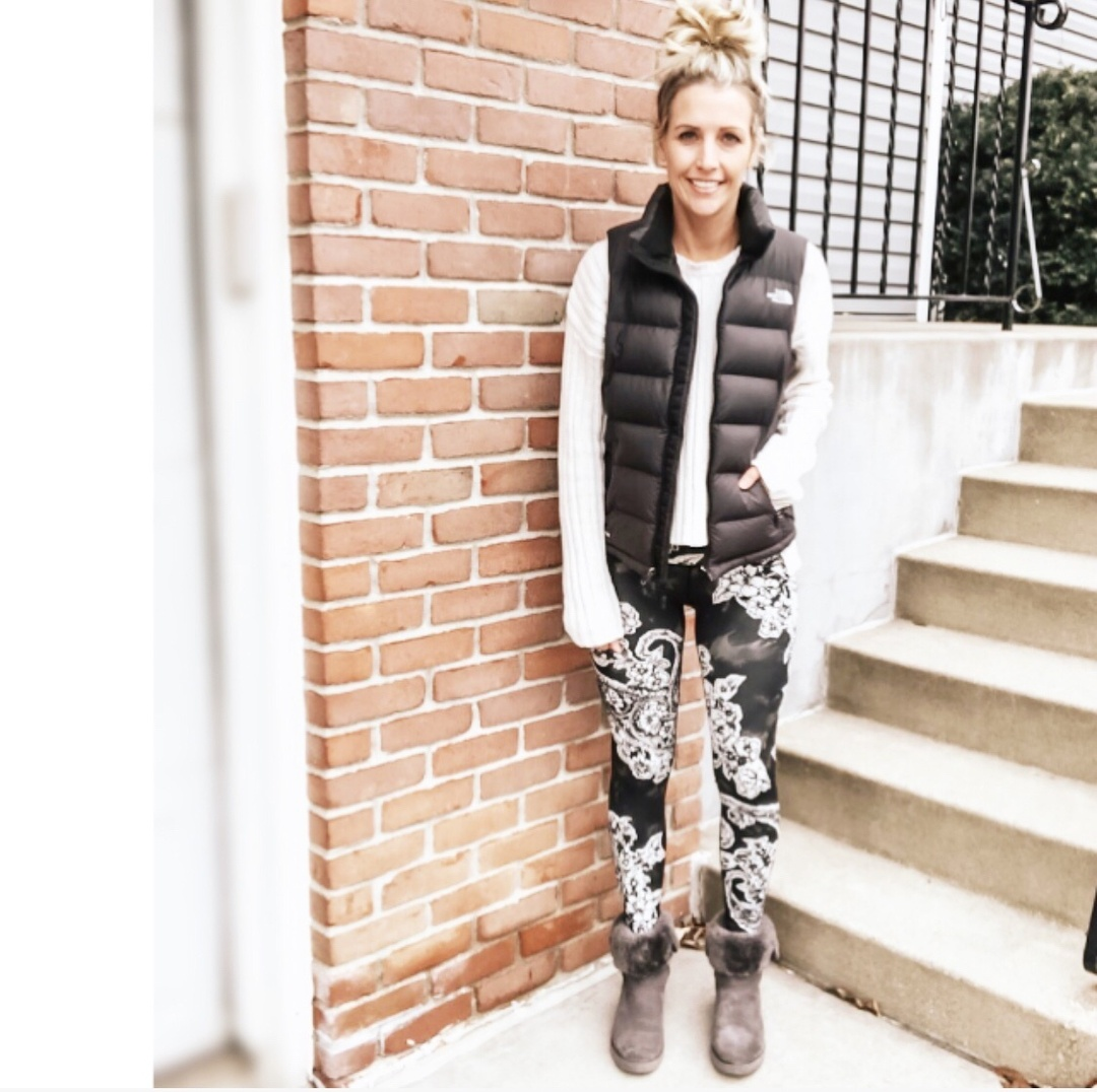 Look by Marla Gustafson featuring The North Face Stretch Down Vest