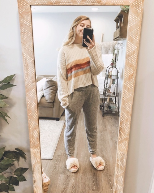 Fashion Look Featuring By Mackjean, Carved Wood Mirror Target