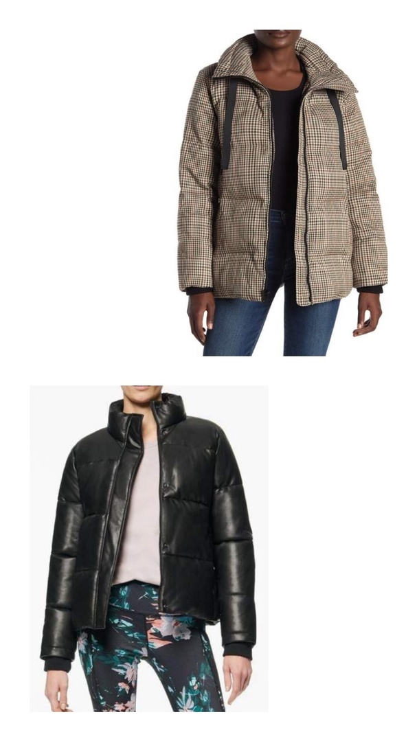 Look by Kristi Hemric featuring Plaid Print Stand Collar Quilted Jacket