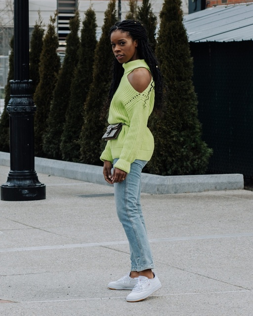 ng to love this neon trend! #ShopStyle #MyShopStyle #LooksChallenge #ContributingEditor #Winter #TrendToWatch #neon #ssclooks