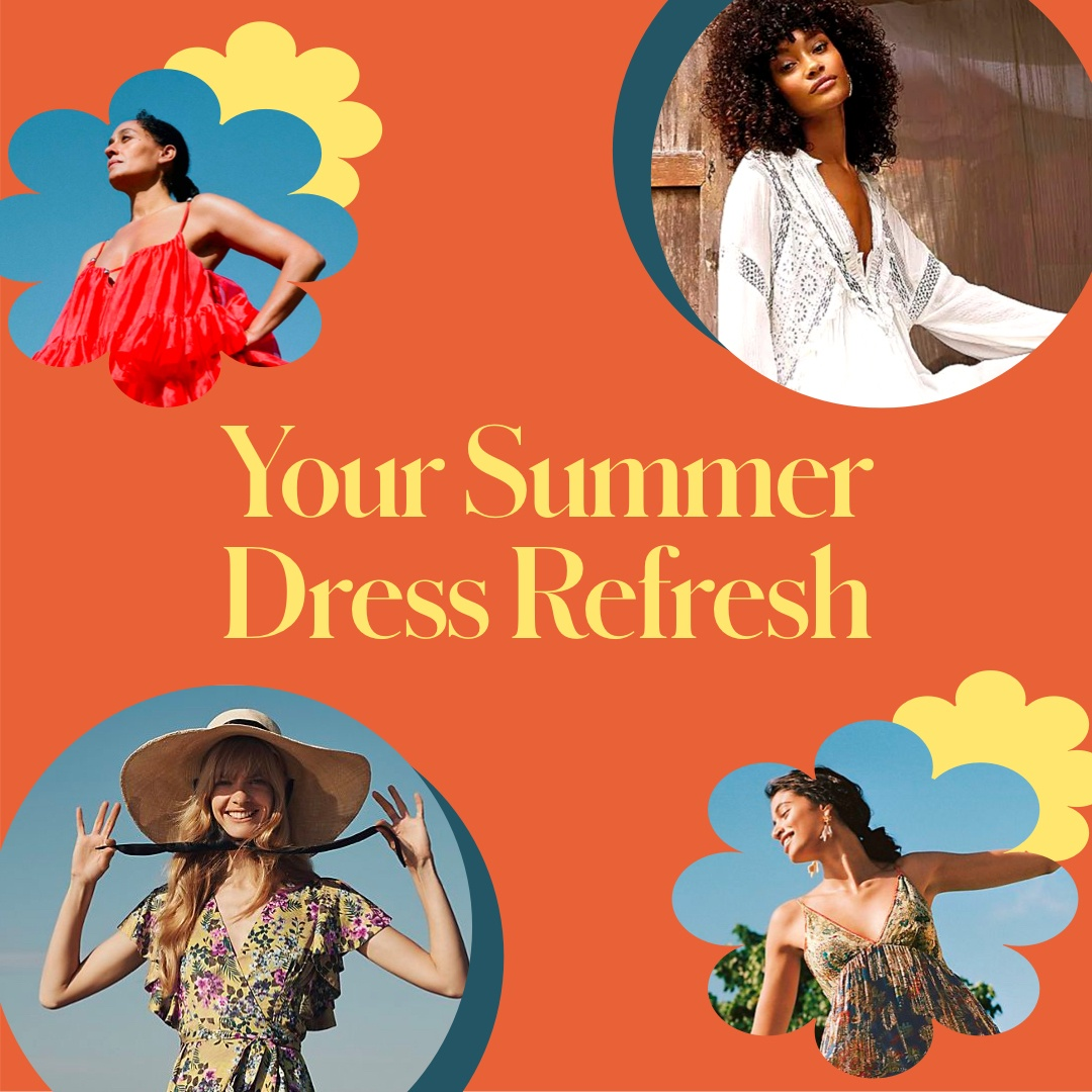 These Are the Dresses Destined for Your Summer Wardrobe