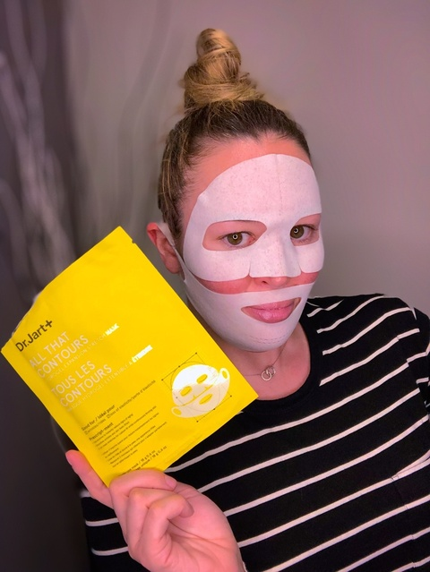 All That Contours Anti-Aging Face Mask