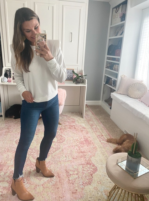 and 4 in the jeans. #justpostedblog #ShopStyle #shopthelook #MyShopStyle #OOTD #LooksChallenge #ContributingEditor #Lifestyle