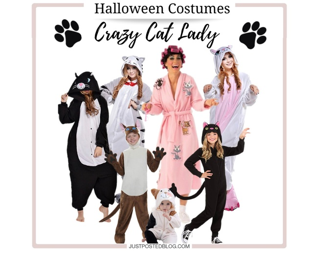 Crazy Cat Lady Themed Costume