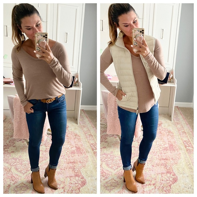 g a 4 in the jeans. #justpostedblog #ShopStyle #shopthelook #MyShopStyle #OOTD #LooksChallenge #ContributingEditor #Lifestyle
