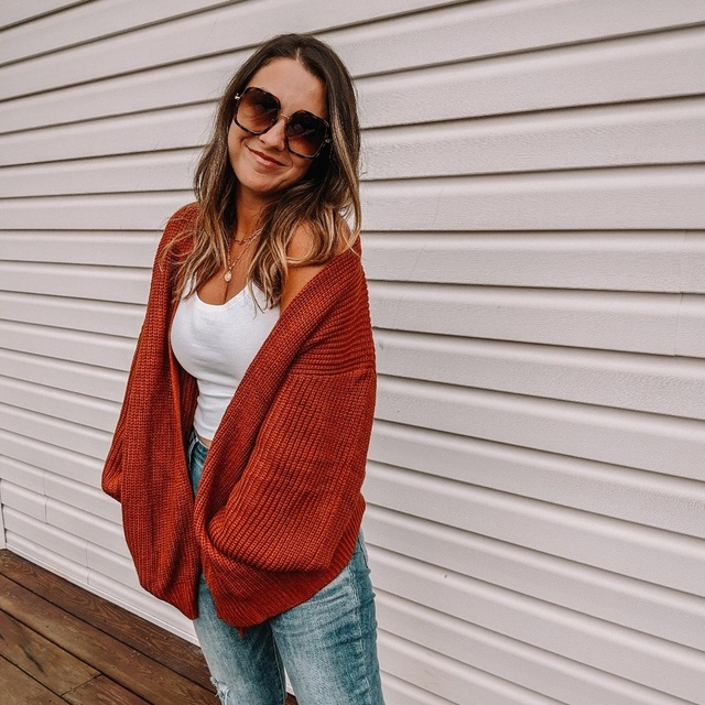 Cozy fall sweater in caramel color #ShopStyle #MyShopStyle #ootd #mylook #fallfashion