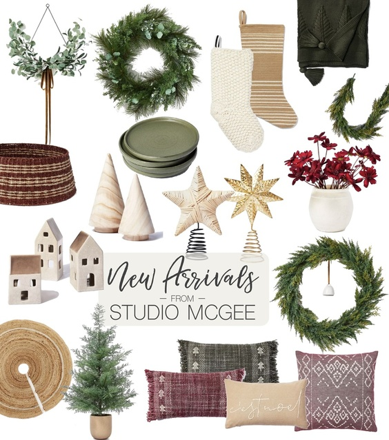 New Arrivals for Christmas from Studio McGee!