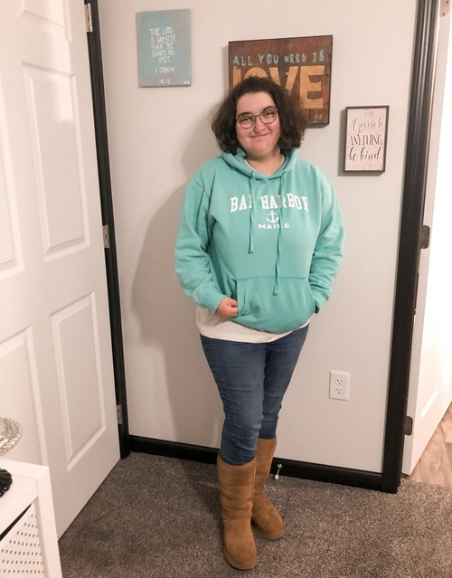 fall break! I love my crewnecks so I haven't worn sweatshirt in a long time. They are just as comfy  #ShopStyle #MyShopStyle
