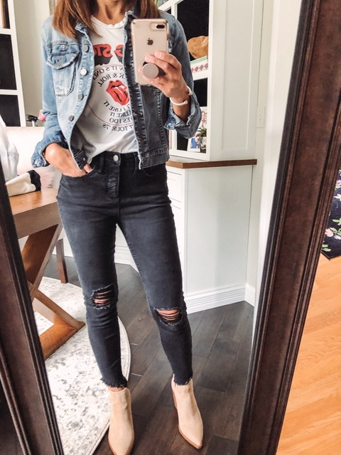 ay?  Vintage?  Booties? Pj's????  Whatever it is-keep Rockin!!! 🤘🏻 #ShopStyle #MyShopStyle #rockinfriday #fridayvibes #ootd