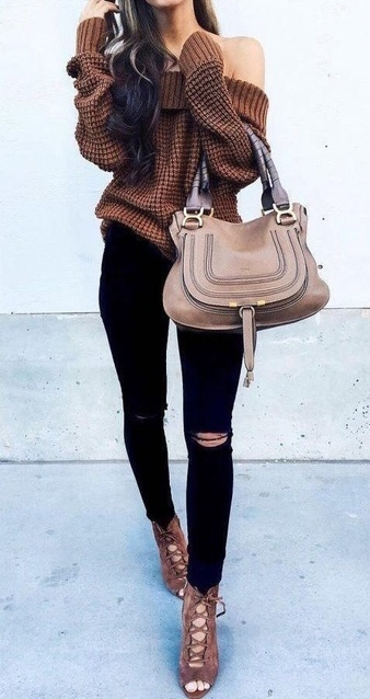 Woman's Fall Fashion Outfit Idea. #ShopStyle #shopthelook #MyShopStyle #FallStyle #WomansFashion #FallFashion #ad