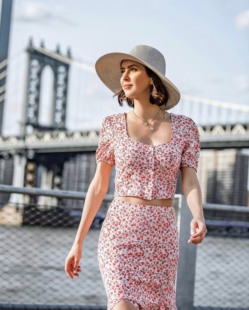 Fourth of July ready in femme florals  #ShopStyle #MyShopStyle #LooksChallenge #julyfourth #Holiday #Vacation #Travel