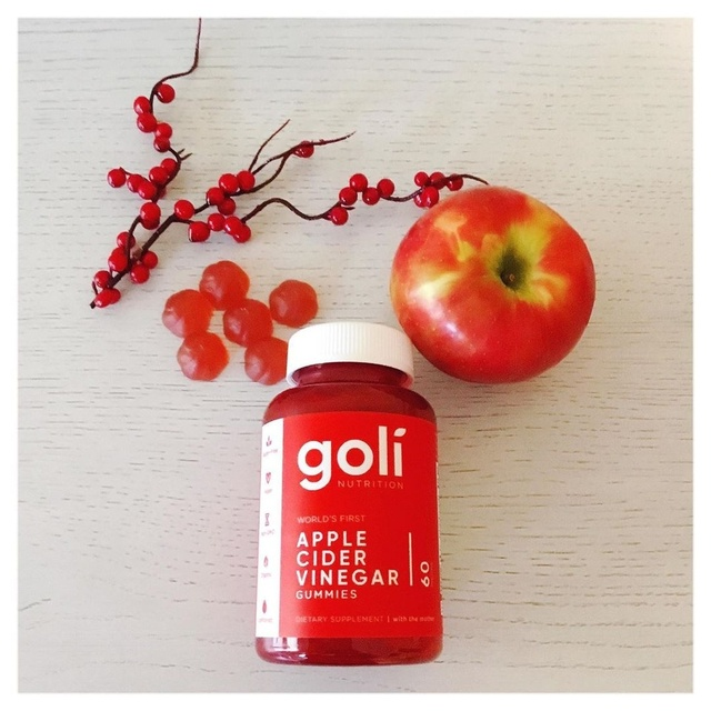 Vinegar without the yucky taste!  2 Goli Gummies equals one shot of ACV! #nutrition #vitamins #supplements #health #wellness