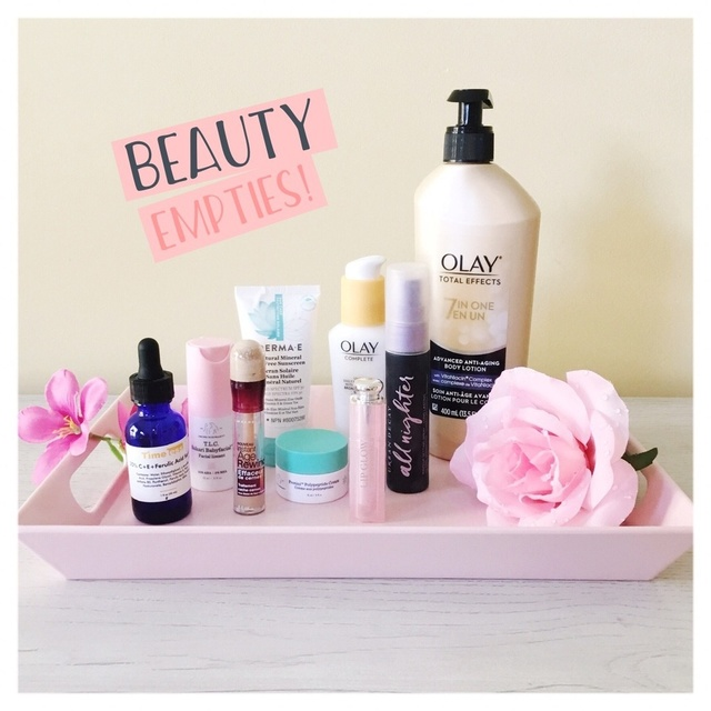 Shop the makeup & skincare products from my Summer Beauty Empties!