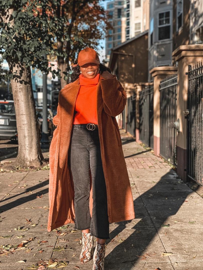 Look by IamStarrHoward featuring BB Dakota Teddy Faux Fur Longline Coat