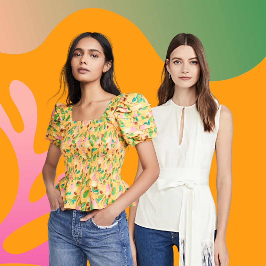 We Found the Cutest Tops on Sale Right Now