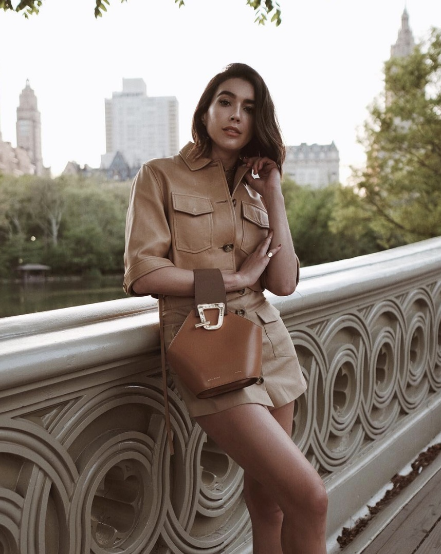 Spring in Central Park 🍃 #TravelOutfit #WeekendLook #WearToWork #SummerStyle #ShopStyle #shopthelook #MyShopStyle #OOTD #SpringStyle #nyc #redvalentino #danselente #centralpark #nyc