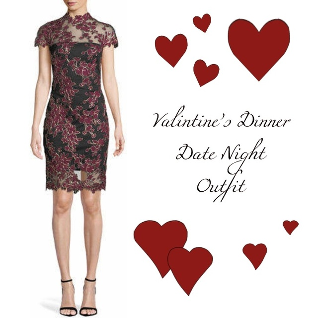 Valentine's Dinner Date Night Outfit #ShopStyle #MyShopStyle #Holiday #ValentinesDay #datenight #dinnerdate #love #getthelook